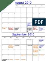 2010 Calendar (Web)