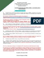 Procedimentos de Estágio Não Obrigatório Licenciaturas e Bacharelados