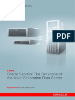 Oracle Servers the Backbone of Datacenter