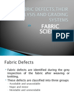 28138511 Fabric Defects