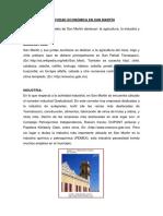 Actividad Económica en San Martín