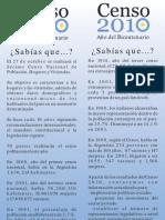 Señalador Censo 2010