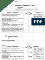 PLANIFICACION_ A. Visuales 2° 2016_COLEGIO_MANDATARIO