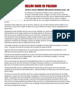 El Descuido de La Rivera Del Río Chillón Tras El Paso Del Fenómeno Del Niño Costero en San Diego de Alcalá