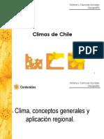 Climas Chile