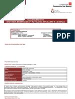 Guía Docente de Anatomía, Biom. y Pat. 16-17 Ci y Pd