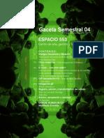 Gaceta 04 Espacio553