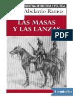 Las masas y las lanzas - Jorge Abelardo Ramos.pdf