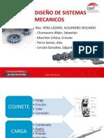 DISEÑO DE SISTEMAS MECANICOS