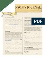 johnsons journal  10-9-17