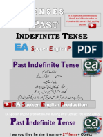 Past Indefinite Tense in Urdu by EA Spoken English With Emran Ali Rai on YouTube