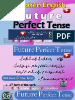 Future Perfect Tense in Urdu by EA Spoken English With Emran Ali Rai on YouTube