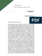 Adorno - On Jazz.pdf