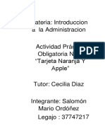 Intro Admin 2da Parte Naranja y Apple