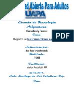 Unidad v Contabilidad y Finanzas Juan Daniel L.H