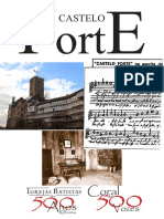 Partituras - Castelo Forte