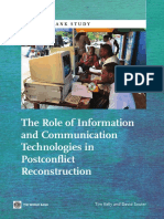 The Role of Information and Communication Technologies