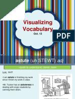 visualizing vocabulary oct  13