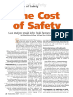 The Cost of Safety Cost Analysis Model h