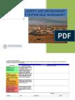 Self Assessment Proforma Rev3
