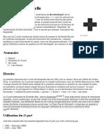 Croix directionnelle — Wikipédia