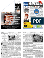 "Kuta Weekly-Edition 195 ""Bali""s Premier Weekly Newspaper"""