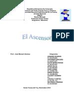 Informe de Ascensor - .docx