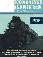 The Locomotives That Baldwin Built - F.westing
