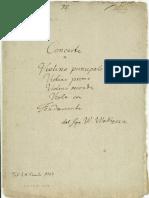 Wodiczka Violin Concerto