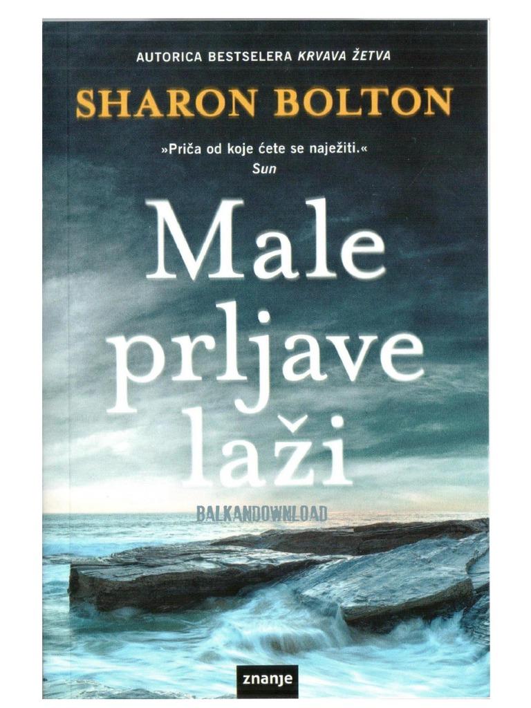 Sharon Bolton - Male Prljave Laži