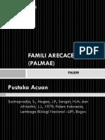 Famili Arecaceae (Palmae) - PALEM