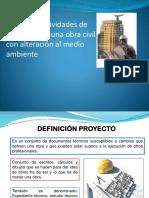 Clase N_4, Etapas y Áreas de Influencia de Una Obra Civil