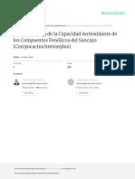 Paredes Julio Determinación de La Capacidad Antioxidante de Los Compuestos Fenólicos Del Sancayo