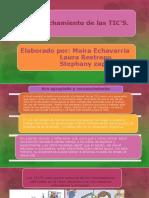 Diapositivas Aprovechamiento de Las Tics. Smartart