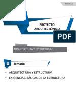 Arquitectura y Estructura 1