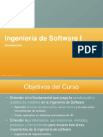 Clase 1 - Introduccion a La Ingenieria de Software