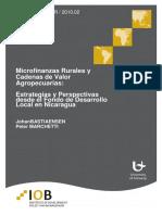 Mfg Es Documento Microfinanzas Rurales y Cadenas de Valor Agropecuarias 2 2010
