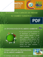 Tecnologías Capaces de Frenar El Cambio Climático