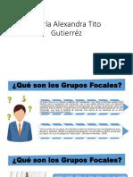 Diapositivas de Focus Group 1 en Exponer