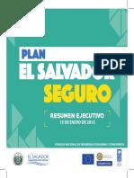 Plan El Salvador Seguro RESUMEN EJECUT