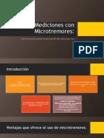 Mediciones Con Microtremores