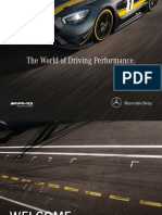 Mercedes-AMG Image Brochure World of Driving Performance English
