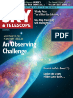 Sky & Telescope - August 2016
