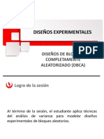 Diseño Experimental DBCA
