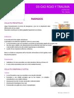 Trauma ocular quirúrgico