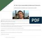 Elecciones en Corrientes_ Eugenio _Nito_ Artaza Responsabilizó Al Gobierno Por La Lentitud en El Escrutinio Provisorio - 09.10