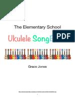gjones final ukulele song book