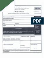 Formulario Inventario de Cuentas