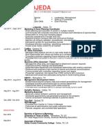 my resume - monica ojeda