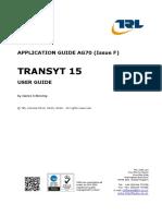 Transyt 15 User Guide
